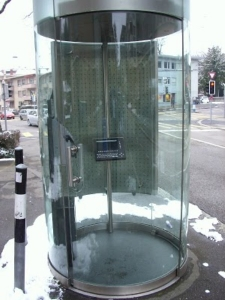 Cabina telefónica de Zurich