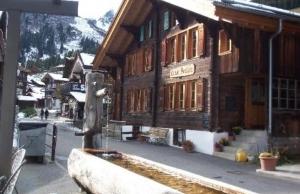 Alojamiento en Suiza
