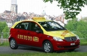 Taxis en Suiza