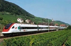 Trenes en Suiza