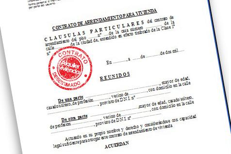 Requisitos y temas relacionados con el alquiler en suiza for Contrato documento