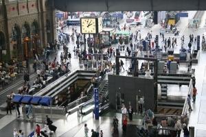 Hall de la Estacion central de Zúrich