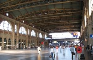 Estación Central de Zúrich (Hauptbahnhof)